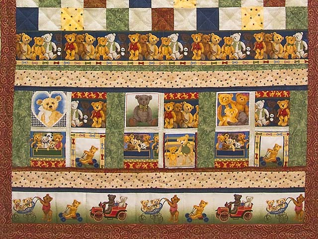 Teddy Bear Album Crib Quilt Photo 3