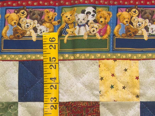 Teddy Bear Album Crib Quilt Photo 5