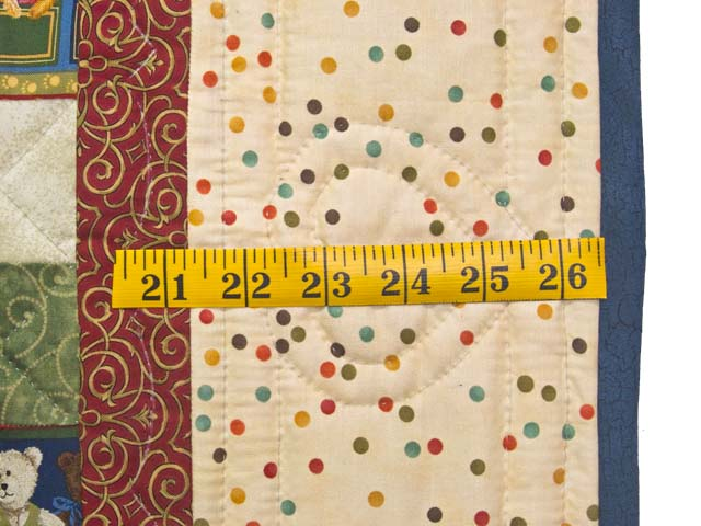 Teddy Bear Album Crib Quilt Photo 6
