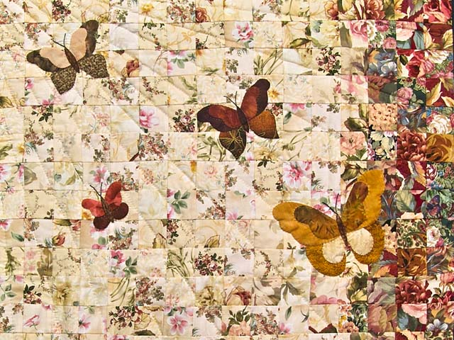 Golden Tan Butterfly  Journey -- Watercolor Wall Hanging Photo 2