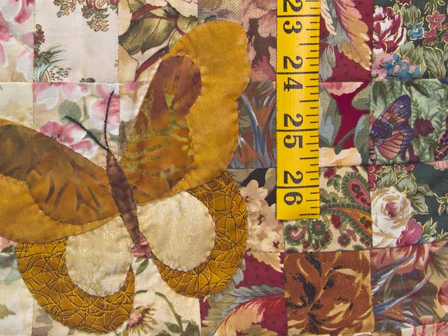 Golden Tan Butterfly  Journey -- Watercolor Wall Hanging Photo 4