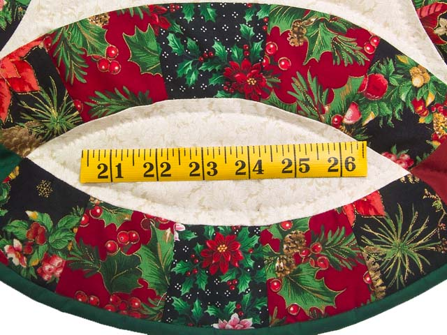 Holiday Double Wedding Ring Runner Photo 4