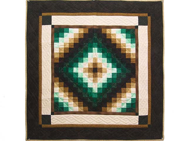 Green and Brown Trip Around the World Wall Hanging Photo 1