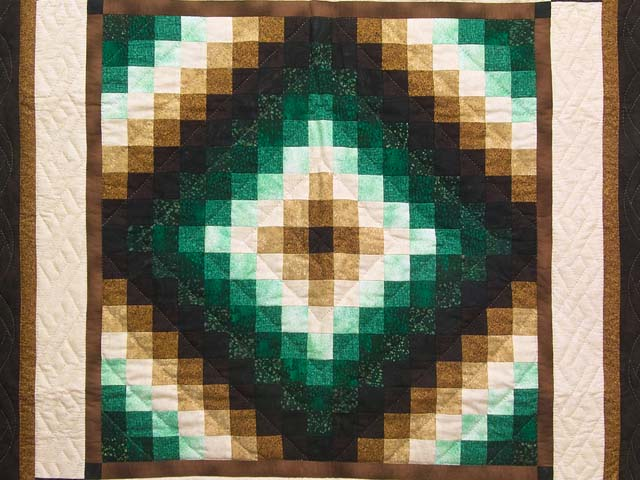 Green and Brown Trip Around the World Wall Hanging Photo 2