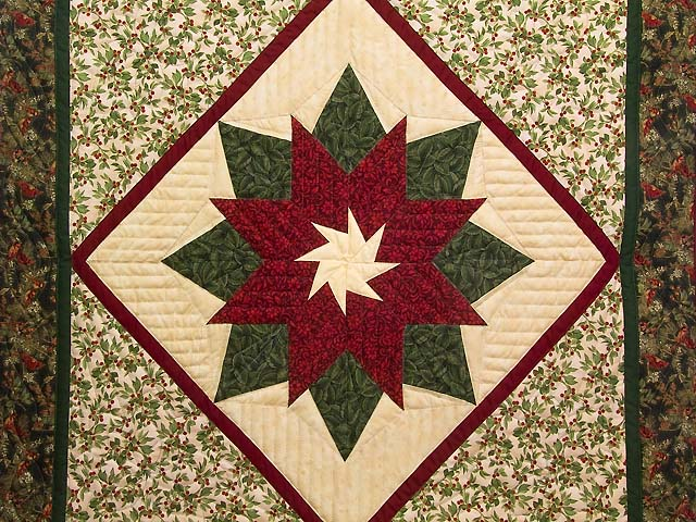 Poinsettia Wall Hanging Photo 2