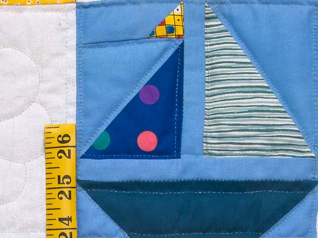 Extraordinary Sampler Crib Quilt Photo 5