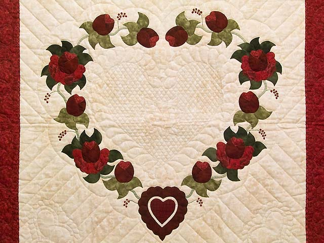 One Dozen Roses Wall Hanging Photo 2