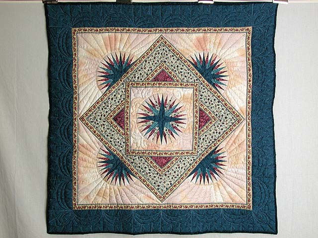 Compass Burst Wall Hanging Photo 1