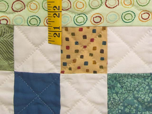Teddy Bear Scenes Crib Quilt Photo 6