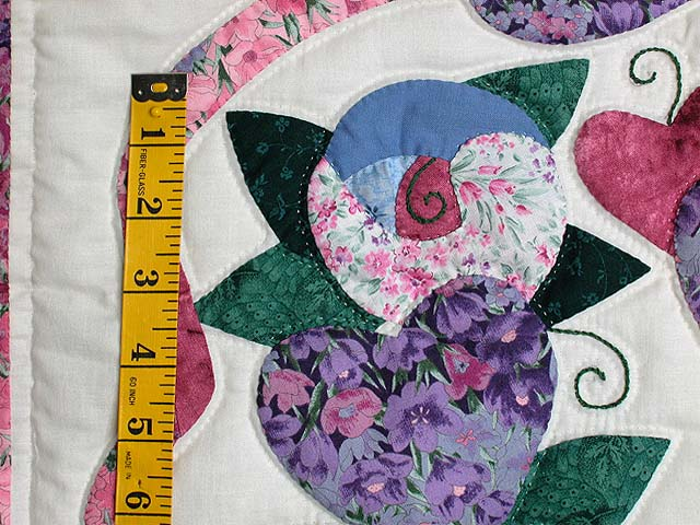 Blue and Rose Country Love Wall Hanging Photo 3