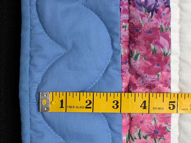Blue and Rose Country Love Wall Hanging Photo 4