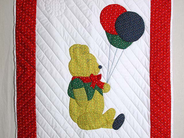 Party Bear Crib Quilt Photo 2