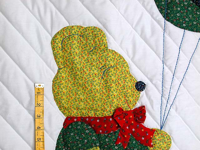 Party Bear Crib Quilt Photo 3