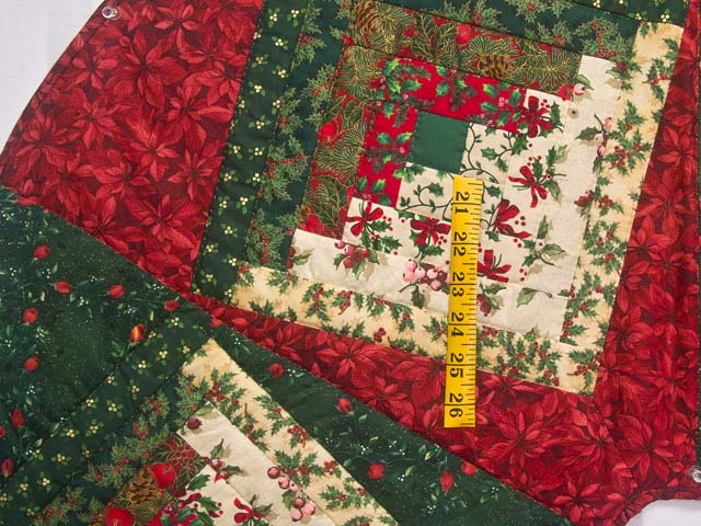 Log Cabin Christmas Quilt.Special Quilt