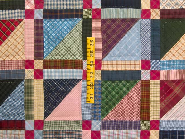 Plaid Homespun Squares Throw Photo 3