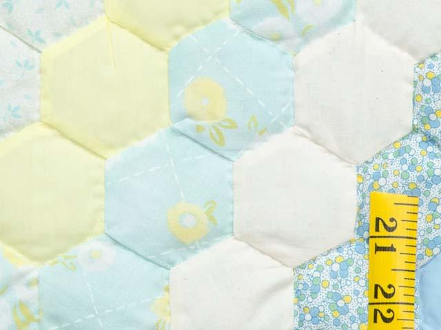 Pastel Flower Garden Crib Quilt Photo 4