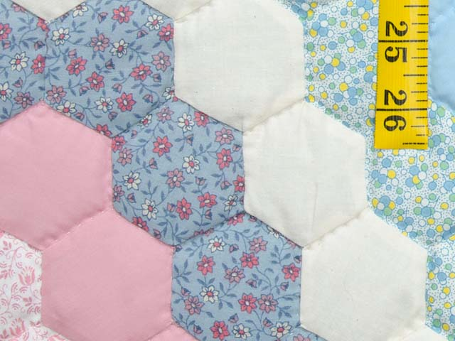 Pastel Flower Garden Crib Quilt Photo 5