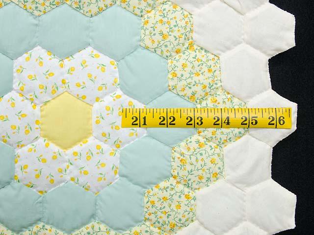 Pastel Flower Garden Crib Quilt Photo 6