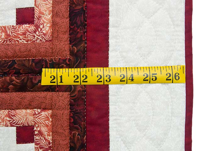 Burgundy and Cream Home is Where the Heart is Wall Hanging Photo 6