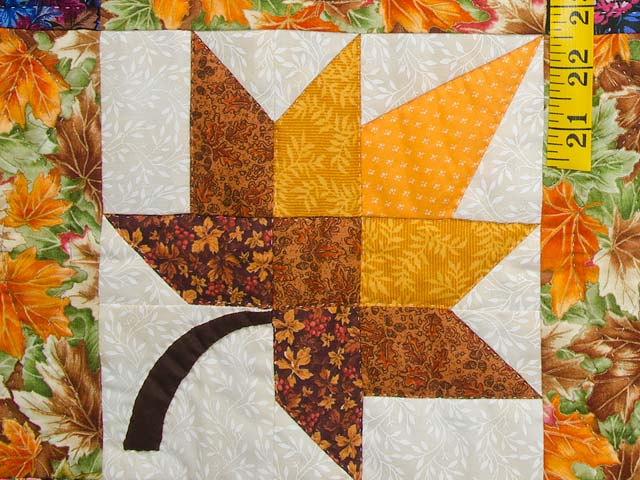 Rust Gold and Multi Autumn Splendor Wall Hanging Photo 5