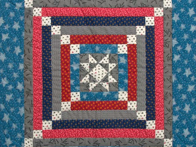 Civil War Colors Star Chain Mini Wall Hanging Photo 2