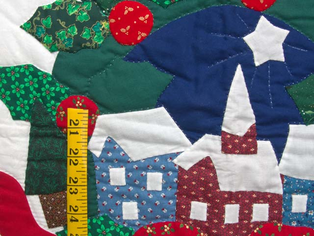 Silent Night Applique Wall Hanging Photo 3