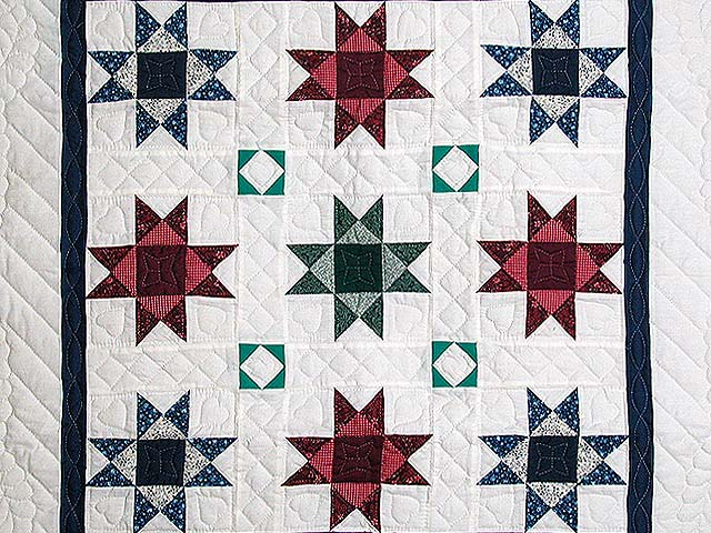 Multicolor Ohio Stars Wall Hanging Photo 2