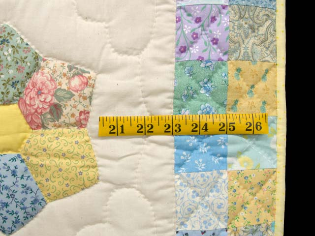 Pastel This and That Crib Quilt Photo 6