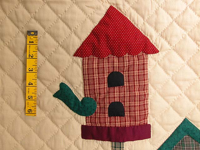 Tan and Multi Bird Houses Wall Hanging Photo 3