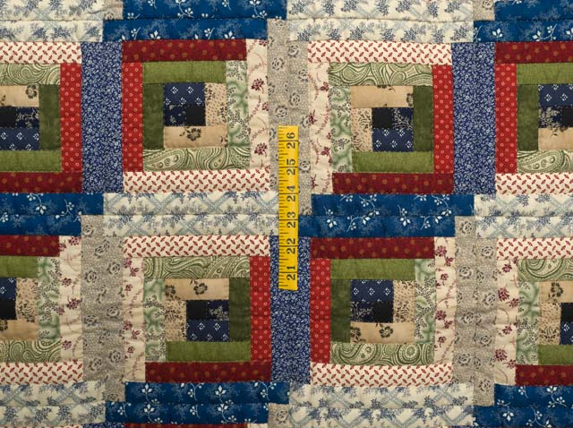 Country Colors Log Cabin Wall Hanging Photo 3