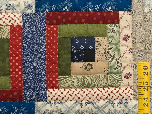 Country Colors Log Cabin Wall Hanging Photo 4