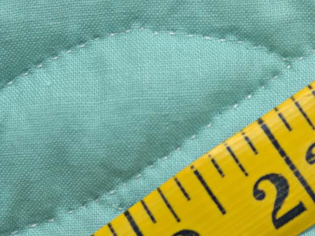 Green and Cream Cross Stitch Animals Crib Quilt Photo 7