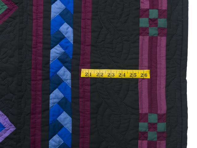 Roman Stripe Log Cabin Throw Photo 5
