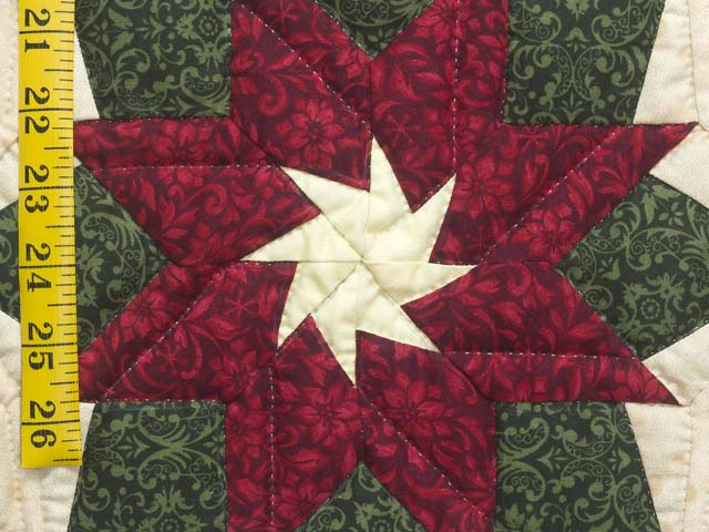 Extra Fine Poinsettia Wall Hanging Photo 5