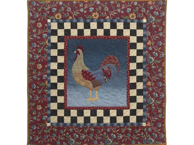 Barnyard Rooster Wall Hanging Photo 1