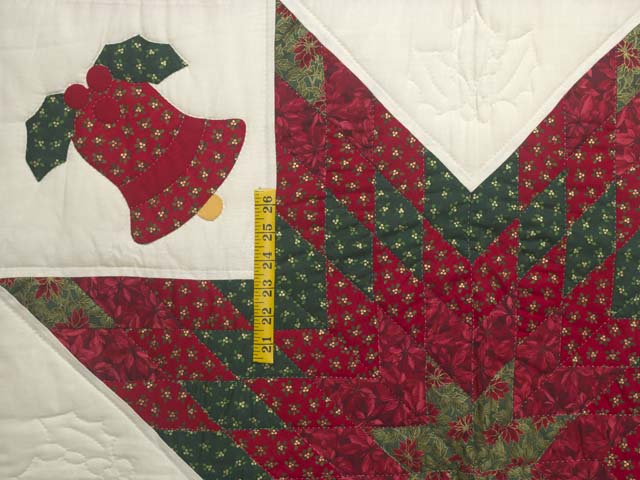Christmas Bells Lone Star Wall Hanging Photo 3