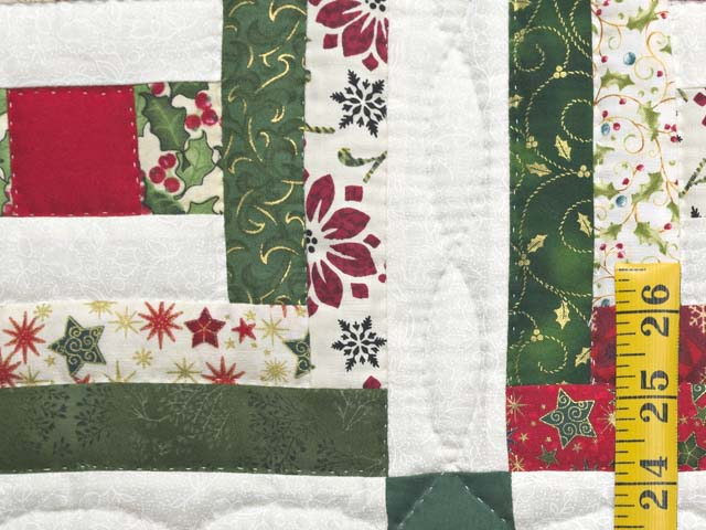 Festive Rebecca Log Cabin Quilt Photo 4