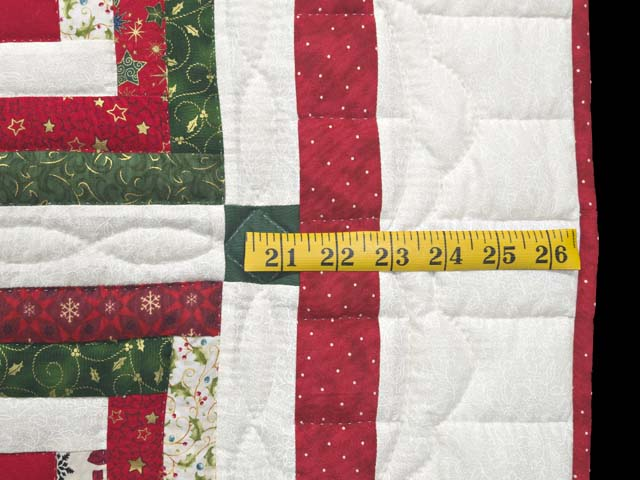 Festive Rebecca Log Cabin Quilt Photo 6