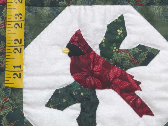 Christmas Cardinal  Feathered Star Wall Hanging Photo 4
