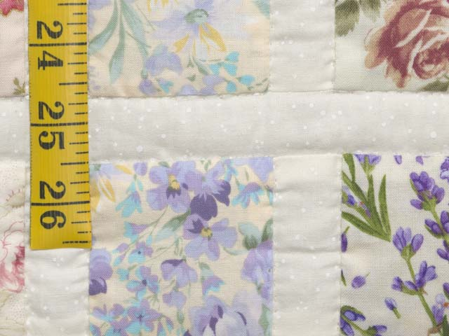 Floral Delight Crib Quilt Photo 5