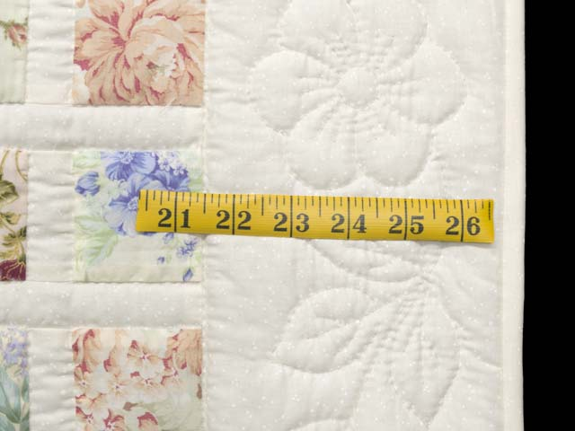 Floral Delight Crib Quilt Photo 6