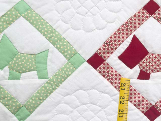 Green and Pastels Scotties Crib Quilt Photo 4