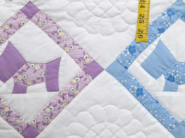 Green and Pastels Scotties Crib Quilt Photo 5