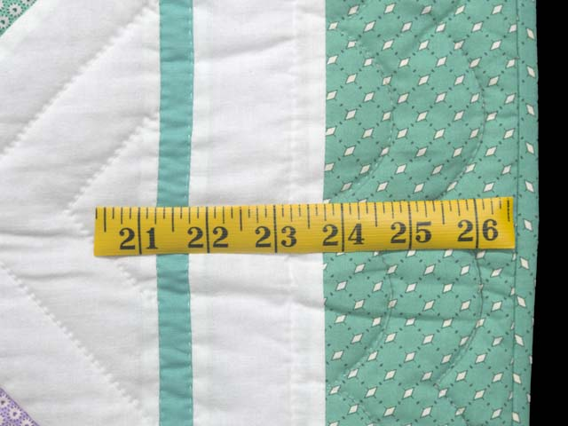 Green and Pastels Scotties Crib Quilt Photo 6