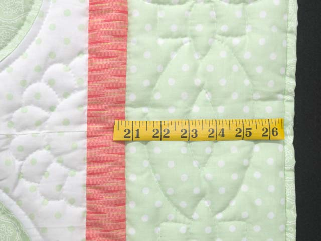 Pastel Green and Peach Solomon