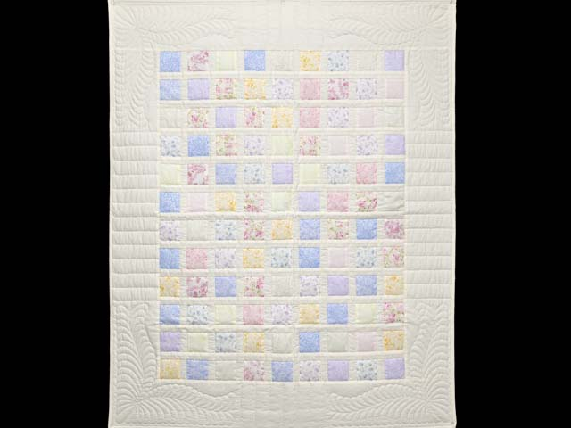 Pastel Delight Crib Quilt Photo 1