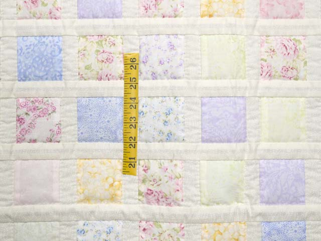 Pastel Delight Crib Quilt Photo 3