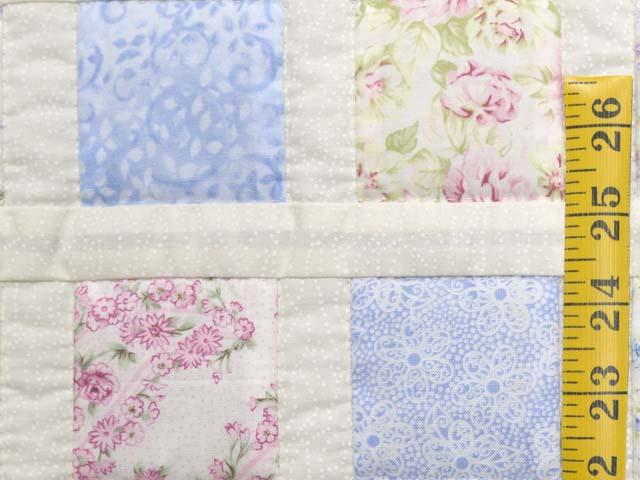 Pastel Delight Crib Quilt Photo 4