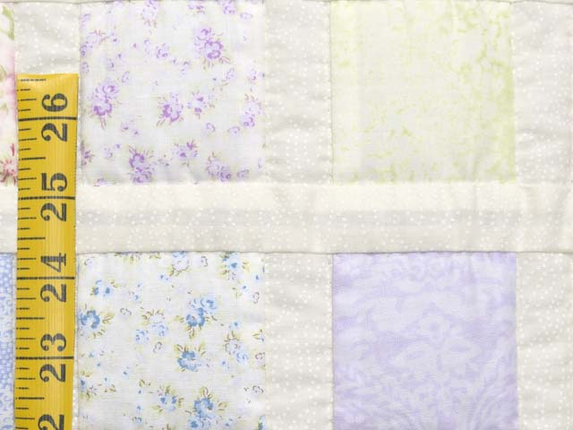 Pastel Delight Crib Quilt Photo 5