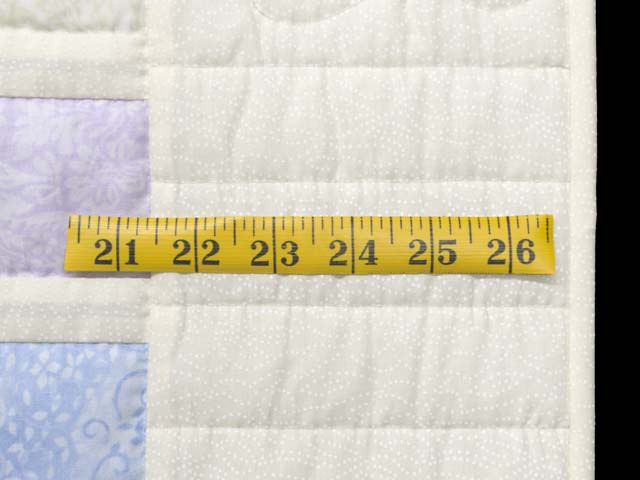 Pastel Delight Crib Quilt Photo 6
